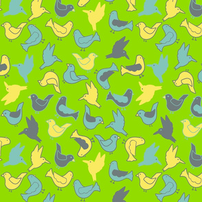 All Pretty Birds Palette Restricted
