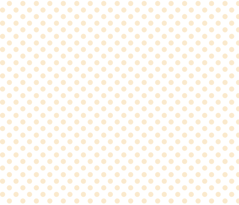 polka dots ivory fabric by misstiina on Spoonflower - custom fabric