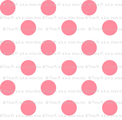 polka dots pretty pink and white