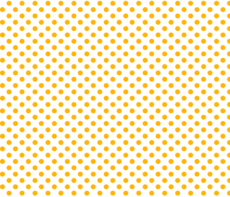 polka dots pumpkin orange and white