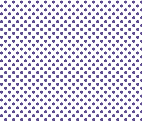 polka dots purple fabric by misstiina on Spoonflower - custom fabric