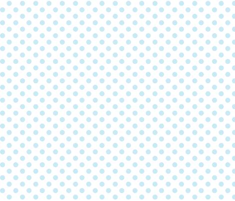 polka dots ice blue fabric by misstiina on Spoonflower - custom fabric