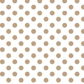 polka dots tan