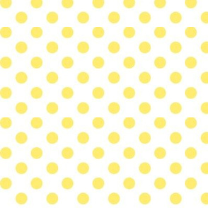 polka dots lemon yellow
