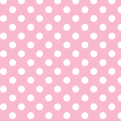 polka dots 2 light pink and white