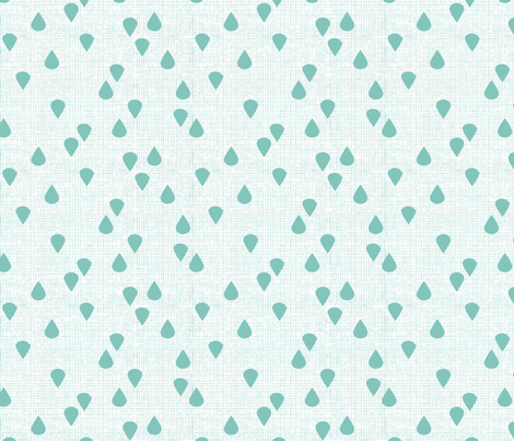 FANCY_DROPS_white fabric by glorydaze on Spoonflower - custom fabric