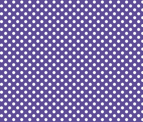 polka dots 2 purple fabric by misstiina on Spoonflower - custom fabric