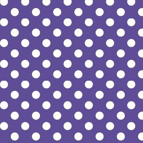 polka dots 2 purple