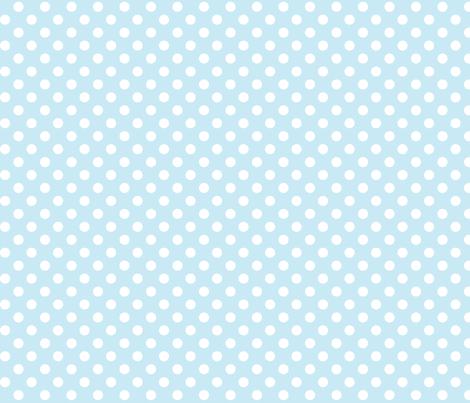 polka dots 2 ice blue fabric by misstiina on Spoonflower - custom fabric