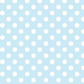 polka dots 2 ice blue