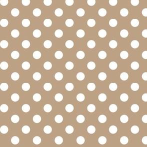 polka dots 2 tan