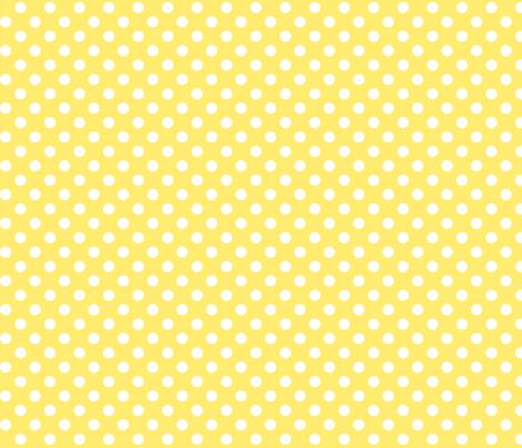 polka dots 2 yellow fabric by misstiina on Spoonflower - custom fabric