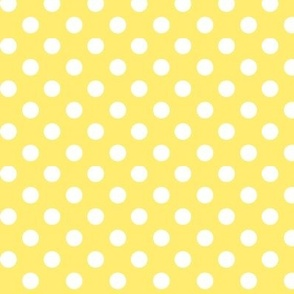 polka dots 2 lemon yellow