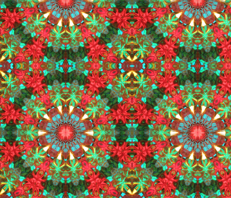 Kaleidoscope One fabric by the_fretful_porpentine on Spoonflower - custom fabric