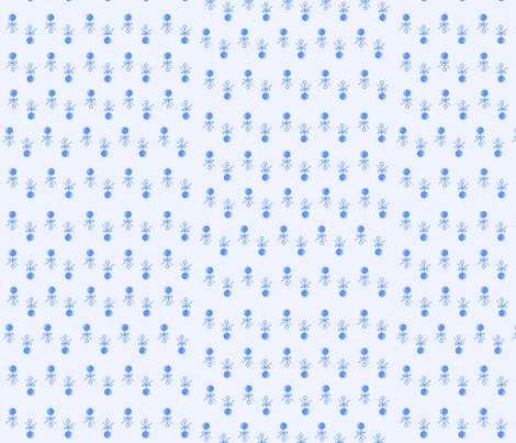Baby Boy Blue Rattles fabric by kiniart on Spoonflower - custom fabric