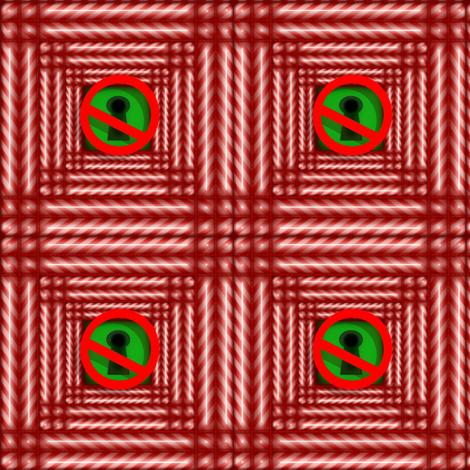 No_Peeking fabric by pd_frasure on Spoonflower - custom fabric