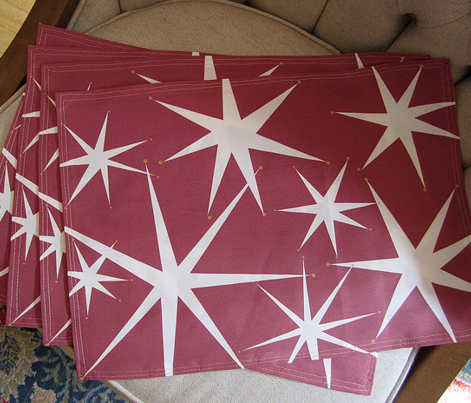Holiday Stars Placemats pattern