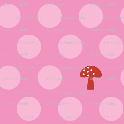 Woodland Mushroom Dots Candy
