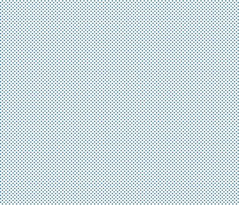 mini polka dots blue and white fabric by misstiina on Spoonflower - custom fabric