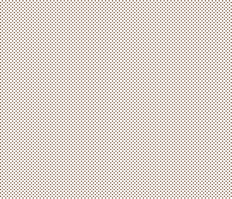 mini polka dots brown and white fabric by misstiina on Spoonflower - custom fabric
