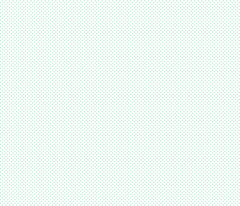 mini polka dots mint green and white fabric by misstiina on Spoonflower - custom fabric