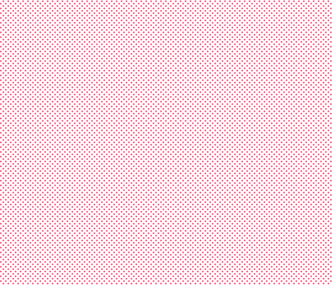 mini polka dots hot pink fabric by misstiina on Spoonflower - custom fabric