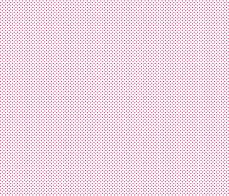 mini polka dots dark pink and white fabric by misstiina on Spoonflower - custom fabric