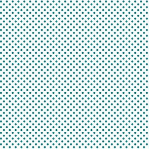 mini polka dots dark teal