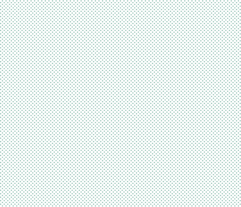 mini polka dots faded teal and white fabric by misstiina on Spoonflower - custom fabric
