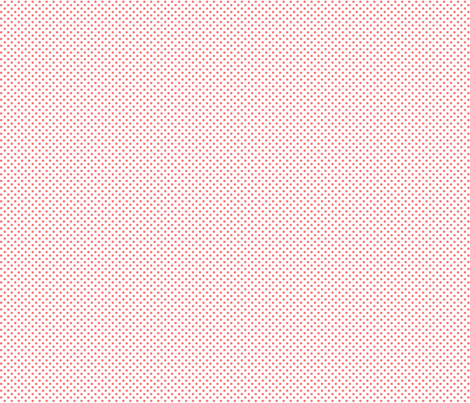 mini polka dots coral and white