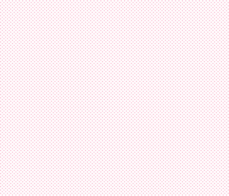 mini polka dots light pink and white
