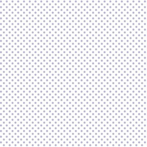 mini polka dots light purple