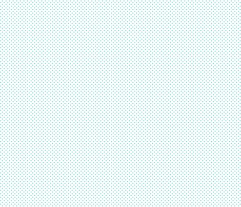 mini polka dots light teal fabric by misstiina on Spoonflower - custom fabric