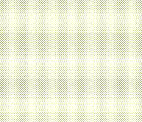 mini polka dots lime green and white fabric by misstiina on Spoonflower - custom fabric
