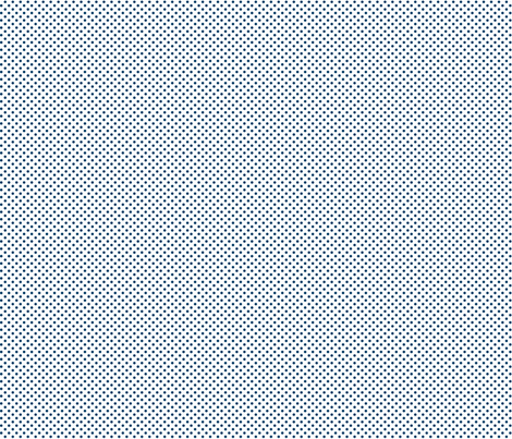 mini polka dots navy blue and white fabric by misstiina on Spoonflower - custom fabric