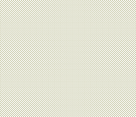 mini polka dots olive green and white fabric by misstiina on Spoonflower - custom fabric