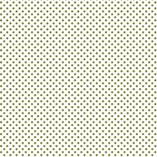 mini polka dots olive green and white