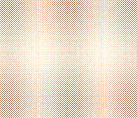 mini polka dots orange and white fabric by misstiina on Spoonflower - custom fabric