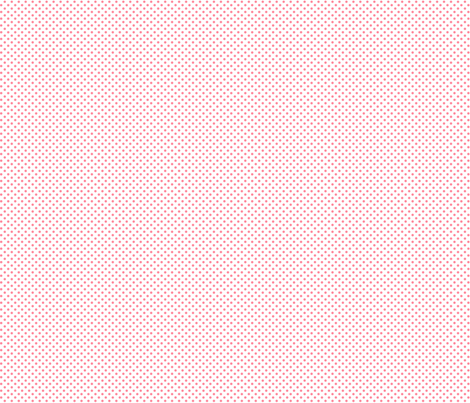 mini polka dots pretty pink and white fabric by misstiina on Spoonflower - custom fabric