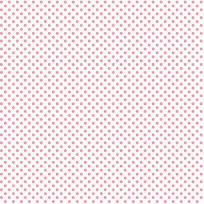 mini polka dots pretty pink