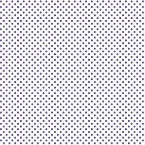 mini polka dots purple