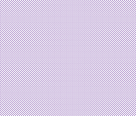 mini polka dots purple and white