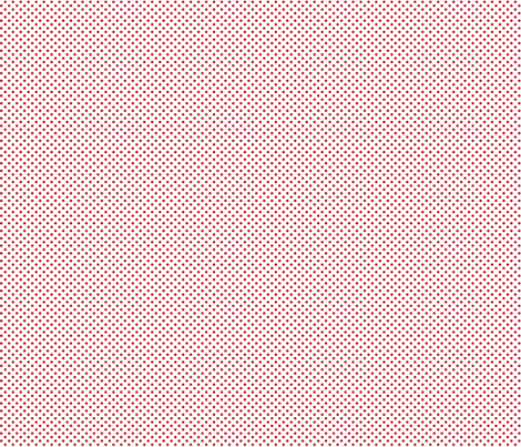 mini polka dots red and white fabric by misstiina on Spoonflower - custom fabric