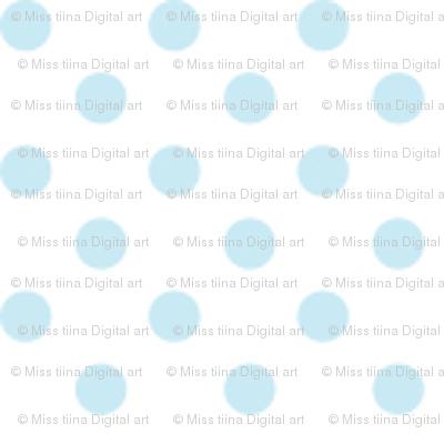 mini polka dots ice blue