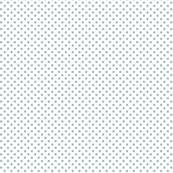 mini polka dots slate blue and white