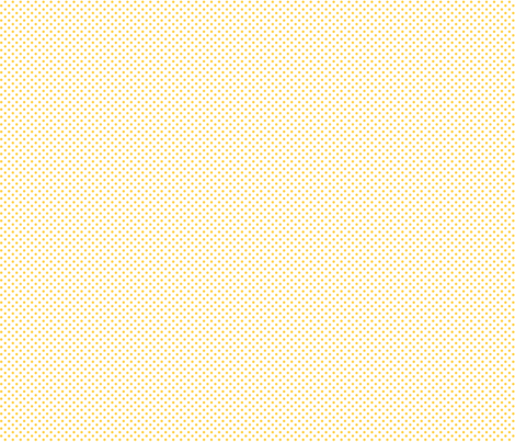 mini polka dots yellow and white fabric by misstiina on Spoonflower - custom fabric