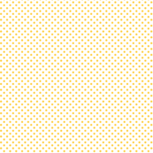 mini polka dots yellow and white