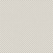 mini polka dots 2 beige and white
