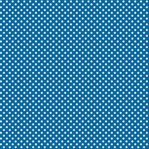 mini polka dots 2 blue and white