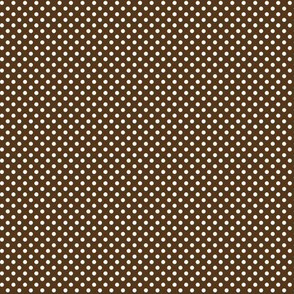 mini polka dots 2 brown
